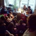 Martin Kordic und seine gespannten Zuhörer